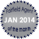 Fairfield Agent of the Month for January 2014
