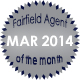 Fairfield Agent of the Month for March 2014
