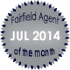 Fairfield Agent of the Month for July 2014