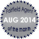 Fairfield Agent of the Month for August 2014