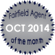 Fairfield Agent of the Month for October 2014