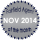 Fairfield Agent of the Month for November 2014