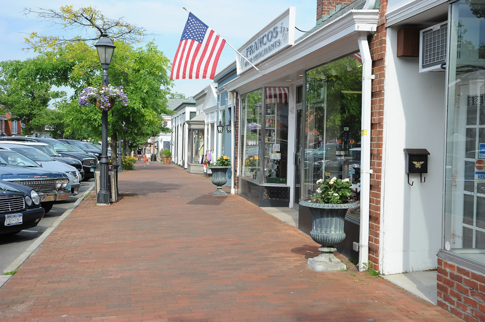 New Canaan downtown2