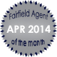 Fairfield Agent of the Month for April 2014