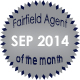 Fairfield Agent of the Month for September 2014